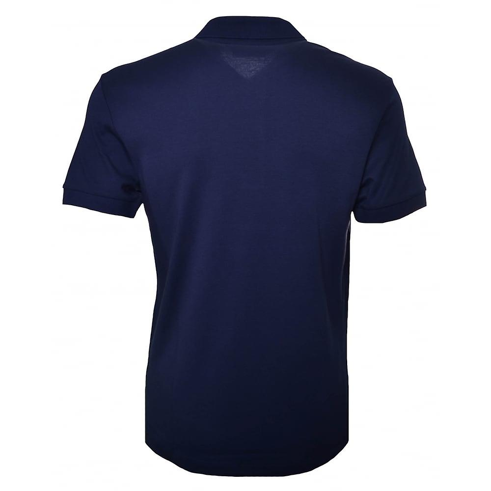 Lacoste Men's Lacoste Mens Regular Fit Navy Blue Polo Shirt