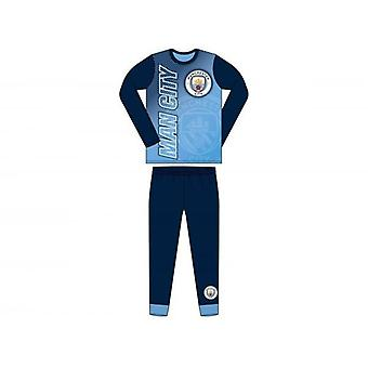 Manchester City FC Childrens/Kids Pyjamas