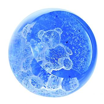 Caithness Glass Special Moments Teddy Blue Paperweight
