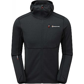 Montane Power Up Hoodie - Charcoal/Alpine Red