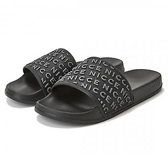 NICCE Nicce Nativo Slides Black Grey Sandals