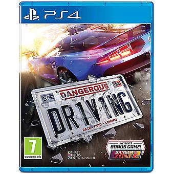 Gevaarlijk rijden PS4 spel