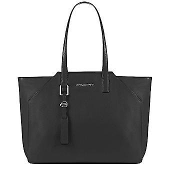PIQUADRO Bd4323mu Black Women's Tote Bag
