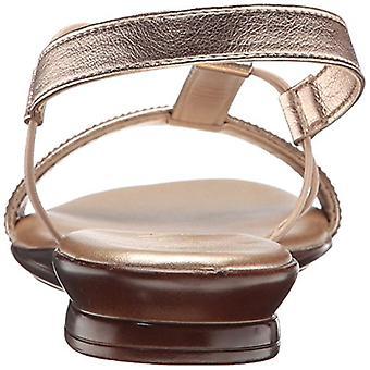 ITALIAN Shoemakers Women's 5696S7 Sandal Rose Gold 11 M US