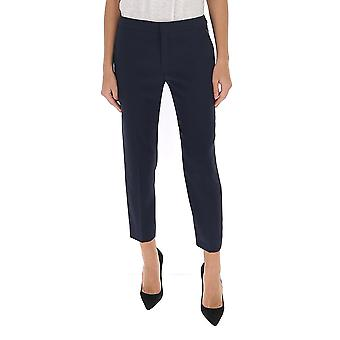 Chloé Chc20spa9313748m Women's Blue Cotton Pants