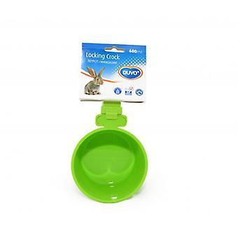 Duvo+ Plastic Trough Crock Rodents 600 Ml