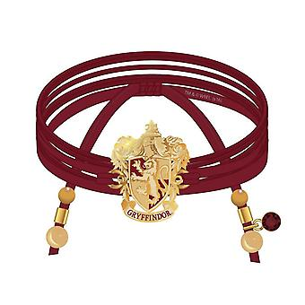 Harry Potter Bracciale Gryffindor Suede Avvolgere Charms e perline nuovo ufficiale