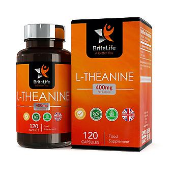 L-Theanine (400mg) 120 Capsules