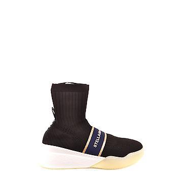 Stella Mccartney Ezbc427001 Dames's Black Nylon Hi Top Sneakers