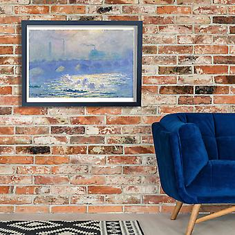 Claude Monet - Waterloo Bridge Poster Print Giclee