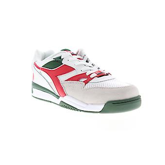 Diadora Rebound Ace Beta Mens White Suede Low Top Sneakers Chaussures