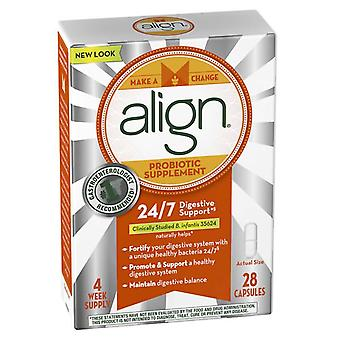 Align probiotic supplement, 24/7 digestive support, 28 ea