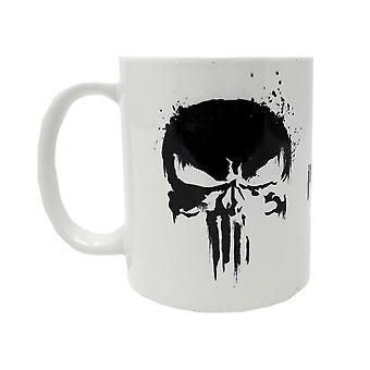 Marvel, mug-The Punisher Skull