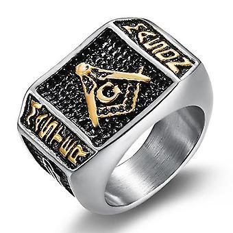 Meister Maurer Kelle Masonic Ring