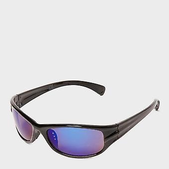 New Peter Storm Kids' Sport Wrap Sunglasses Black