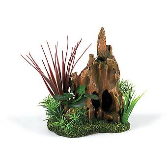 Caldex Classic Driftwood Delights Stump Pinnacle Garden
