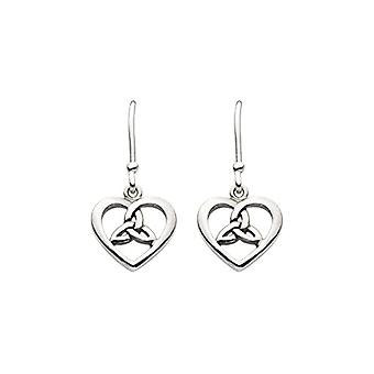 Heritage Pendulum Earrings and Silver Woman Drop - 6343HP