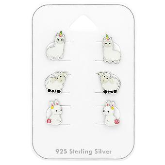 Animal - 925 Sterling Silver Sets - W38728x