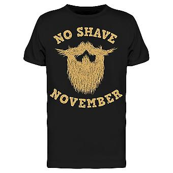 No Shave November Beard Sketch Tee Men's -Image by Shutterstock