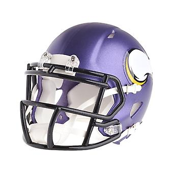 Riddell mini football helmet - NFL Minnesota Vikings speed