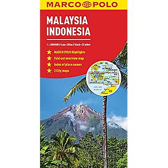 Malaysia and Indonesia Marco Polo Map by Marco Polo - 9783829757072 B