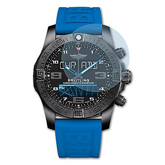 atFoliX Glass Protector compatible with Breitling Supersports B55 9H Hybrid-Glass