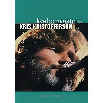 Kris Kristofferson - Live From Austin Texas [DVD] USA import