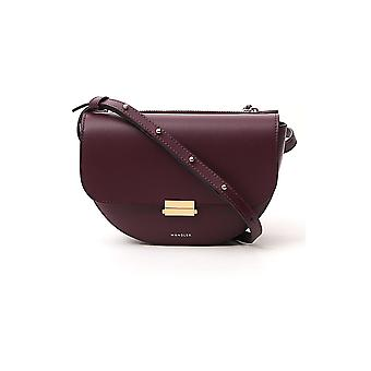 Wandler Annabeltbagbigdaisy Femmes-apos;s Bourgogne Leather Pouch
