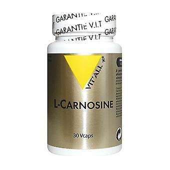 L-Carnosine 330mg 30 vegetable capsules of 330mg
