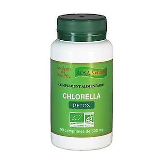 Organic Chlorella 90 tablets of 500mg