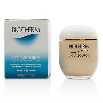 Aquasource 48 h kontinuerlig frigjøring hydrering rik krem for tørr hud 214165 125ml/4.22oz