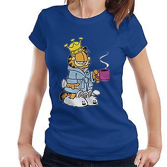 Garfield morgenkaffe & slippers kvinner ' s T-skjorte