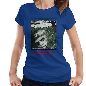 Hammer skräck Films Frankenstein Soul från Hell Women ' s T-shirt