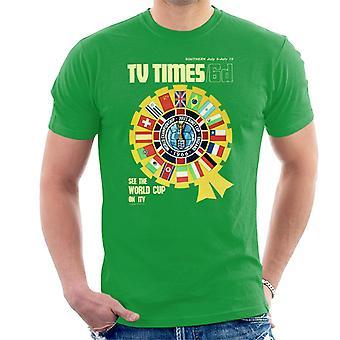 TV tider 1966 VM täcka mäns T-Shirt