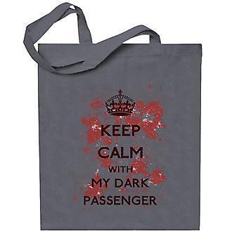 Keep Calm Passenger Dexter Totebag