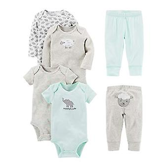 Simple Joys af Carter's Baby 6-Piece Bodysuits (Kort og lang ærme) og Pa ...