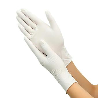 Disposable Non Slip Acid and Alkali Laboratory Rubber Gloves for Household