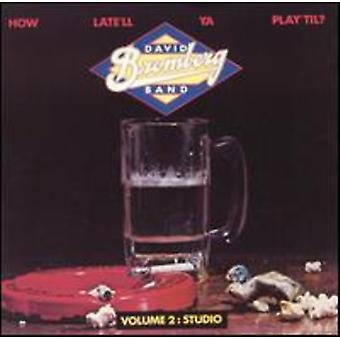 David Bromberg - Studio-How Late'Ll Ya Play Til [CD] USA import