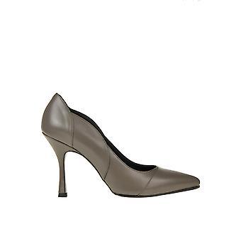 Andrea Pinto Ezgl438004 Kvinnor's grå läderpumpar