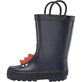 Carter's Kids Buddy Boy's Rubber Rainboot Rain Boot