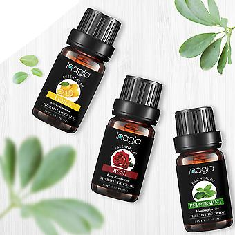 Essential Oils Aromatherapy Diffusers Oil Relieve Stress Home Air Care