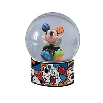 Disney Mickey Mouse Snow Globe By Romero Britto