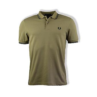 Fred Perry Twin Tipped Polo Shirt (Sage)