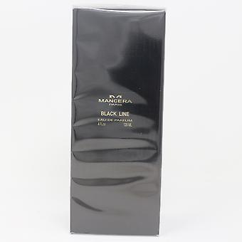 Schwarze Linie von Mancera Eau De Parfum 4oz/120ml Spray neu mit Box