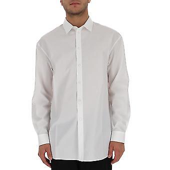 Jil Sander Jsyr600405mr244300100 Miesten's Valkoinen Puuvilla paita