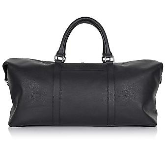 Slate Grey Richmond Leather Duffle Bag