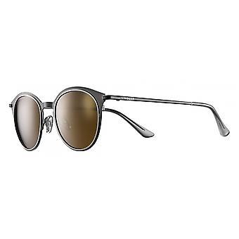 Sunglasses Unisex Cat.3 Black/Brown (JSL1879)