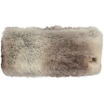 Barts Womens Soft Fluffy Feel Faux Fur Fleece Lined Headband