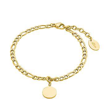 s.Oliver Jewel kvinders armbånd armbånd rustfrit stål IP Guld 2028469