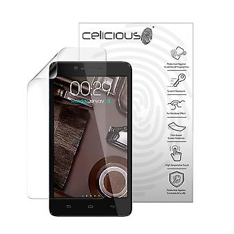 Celicious Vivid Plus Mild Anti-Glare Screen Protector Film Compatible with Micromax A102 Canvas Doodle 3 [Pack of 2]